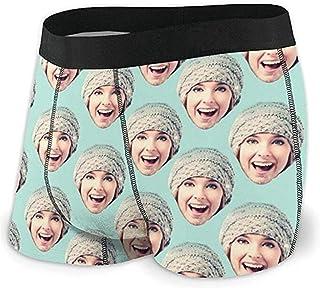 Custom Men's Boxer Briefs Birthday Christmas Gifts Custom Image Panties