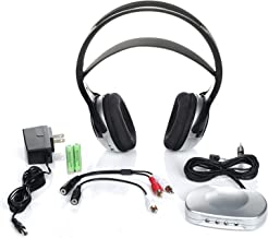 J3 TV920 Listener Rechargeable Wireless Infrared Headphones for TV Listening System   Cordless Over Ear Headphone