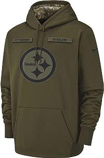 Nike Men's Pittsburgh Steelers Therma Fit Pullover STS Hoodie