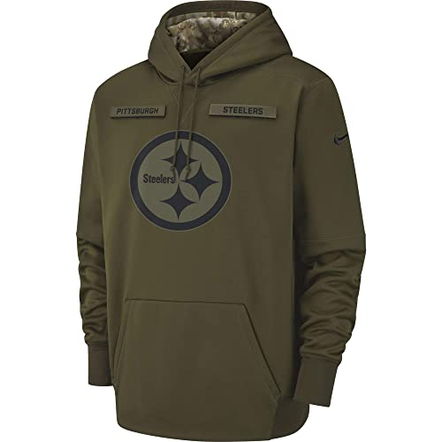the latest 739a6 bf908 Steelers Salute to Service Hoodies: Amazon.com