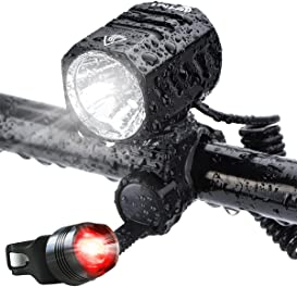 Explore headlights for bicycles
