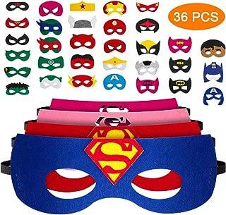 Mejor Mascaras Superheroes Fieltro de 2020 - Mejor valorados y revisados