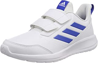 adidas Australia Girls Altarun CF Trainers, Footwear White/Blue/Footwear White, 6 US