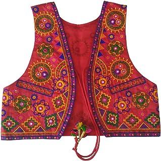 Trendish Women's Kashmiri Embrodery Work Koti (Multi Color, Medium Size,Bust Size Upto 37 Inches)