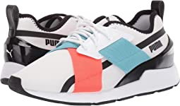 Puma White/Puma Black/Milky Blue