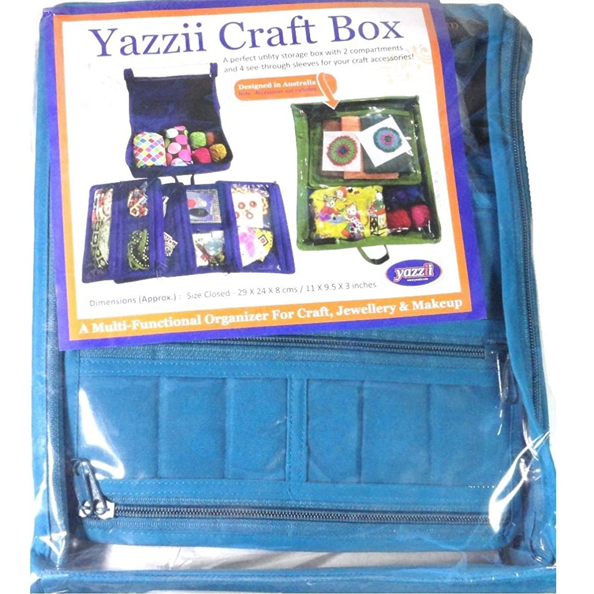 Yazzii CA 470 A Aqua Craft Box