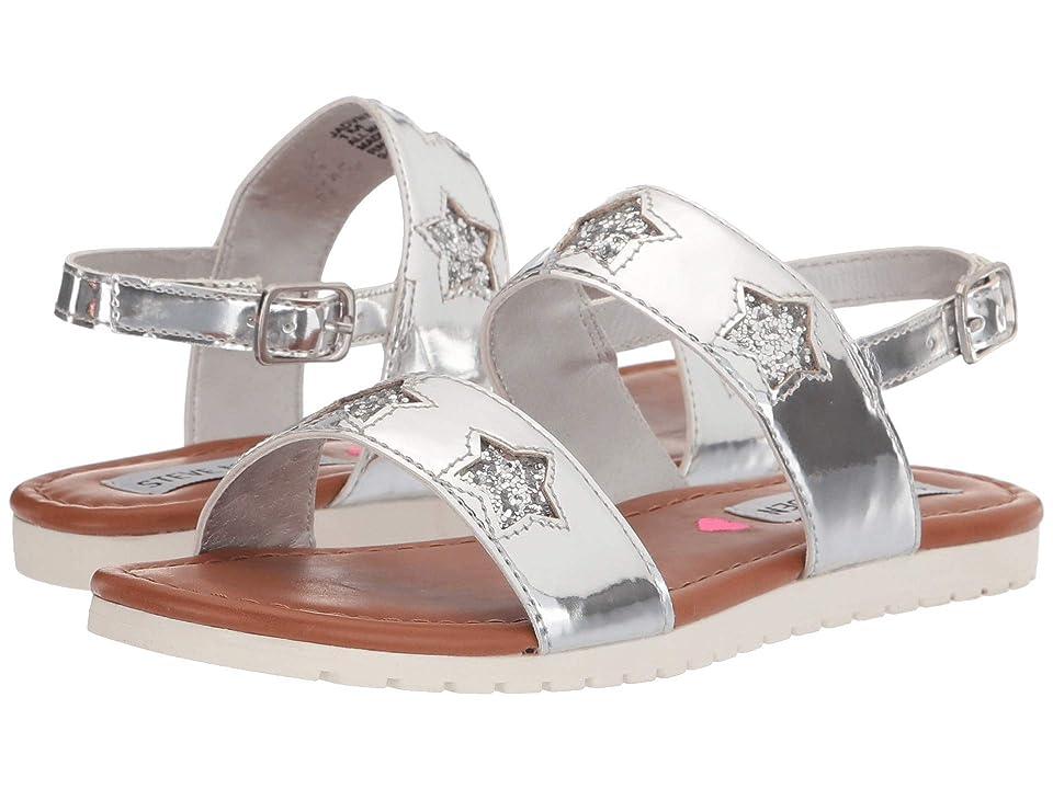 Steve Madden Kids Jadvntr (Little Kid/Big Kid) (Silver) Girls Shoes