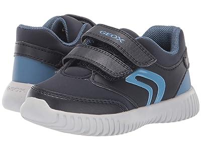 Geox Kids Jr Waviness 11 (Toddler) (Blue Miscellaneous) Boys Shoes