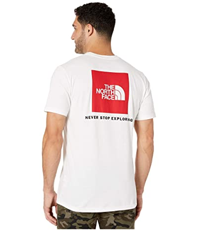 The North Face Short Sleeve Red Box T-Shirt (TNF White/TNF Red) Men
