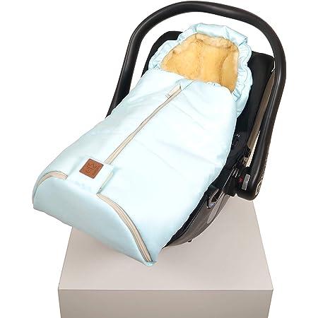 Kaiser 6533296 Babyschalen Fußsack Channy Denim Blue Blau Baby