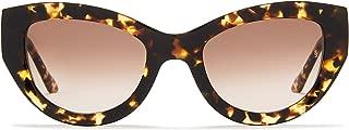 Sunday Somewhere Women's Harper Wrap Sunglasses, Tokyo Tort, 53 mm