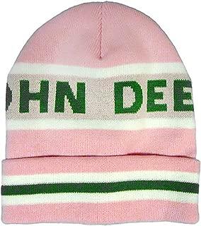Knit Stripe Cuff Winter Hat Pink NWT!