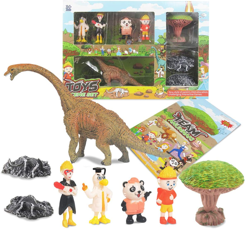 KOMI Dinosaur Max 56% OFF Toys Set OFFicial shop for Boys 8 Girls Dino Pcs Brachiosau Kit