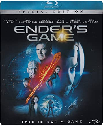 ender's game (special edition) (blu-ray) (ltd metal box) Blu-ray Italian Import