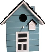 Home Collection Hogar Accesorios Decoración Nido Casa para Pájaros 20 cm Turquesa