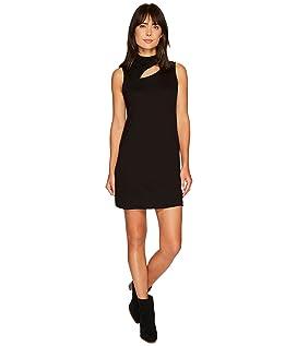 Cut Out Turtleneck Mini Dress