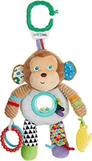 The World of Eric Carle, The Very Hungry Caterpillar On the Go Developmental Plush Monkey, 13""
