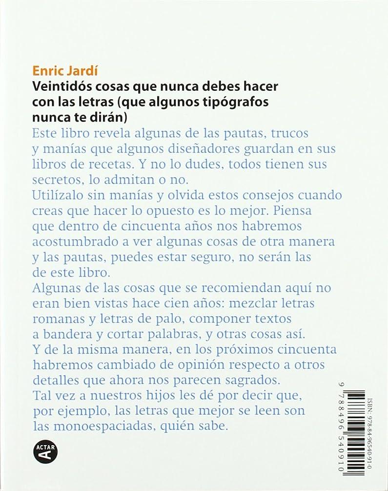 Twenty-Two Tips on Typography / VEINTIDOS CONSEJOS SOBRE TIPOGRAFIA (Spanish Edition)