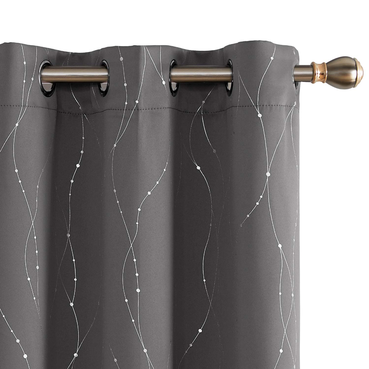 Deconovo Blackout Grommet Curtains Insulated