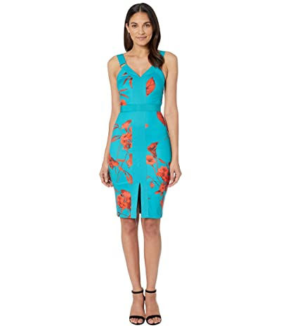 Ted Baker Jordja Dress (Turquoise) Women