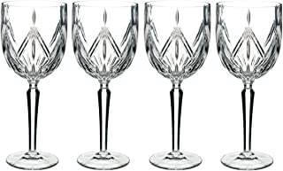 Marquis By Waterford 40032082 Lacey Goblet Set of 4, 15 ounce, Clear
