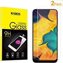 Screen Protector for Samsung Galaxy A10 2019, [2-Pack] KHAOS Tempered Glass Screen Protectors for Samsung A10 2019-9H HD-Clear Anti-Scratch