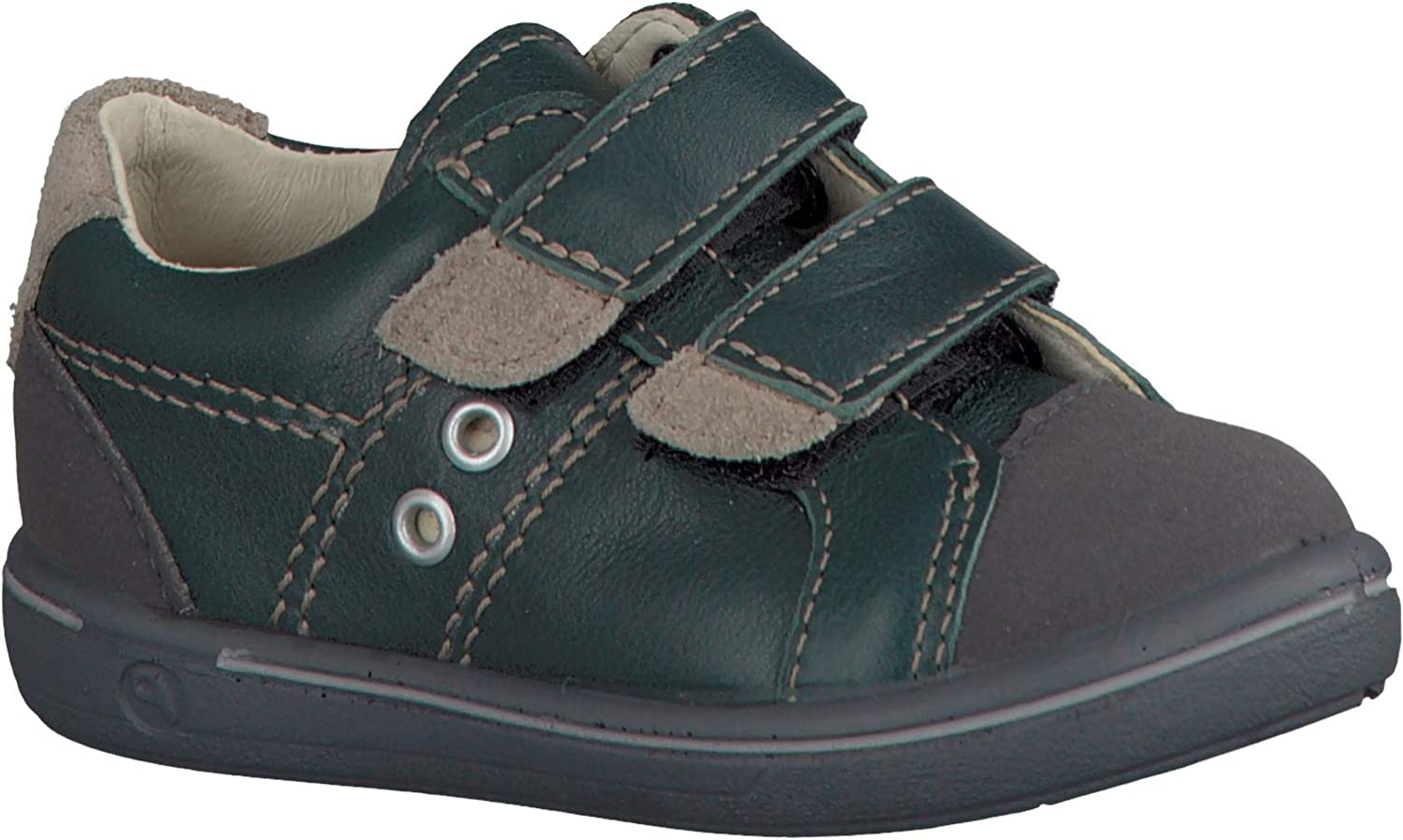 Ricosta Kid's Nippy Leather Shoes, Forest Green