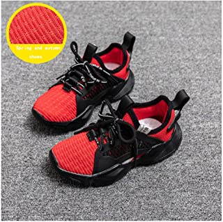SF Children's Summer Mesh Soft Bottom Shoes in The Big Boy Hollow Breathable Casual Sports Shoes