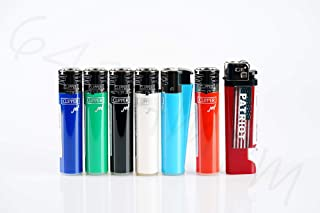 Bundle - 7 Items - 6X Clipper Full-Size PIEZO Ignition Refillable Jet Torch Flame Lighters and Patriot Disposable Lighter