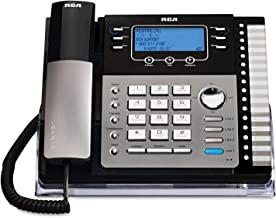 RCA ViSYS 25425RE1 Four-Line Expandable Speakerphone with Integrated Digital Answering System and Auto-Attendant