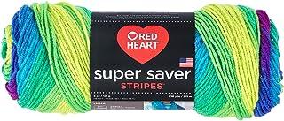 Coats Yarn Red Heart Super Saver Yarn, Multi-Colour, 22.86 x 7.62 x 7.62 cm