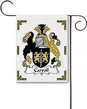 Carpe Diem Designs Carroll Coat of Arms/Carroll Family Crest 11 X 15 Garden Flag – Made in the U.S.A.