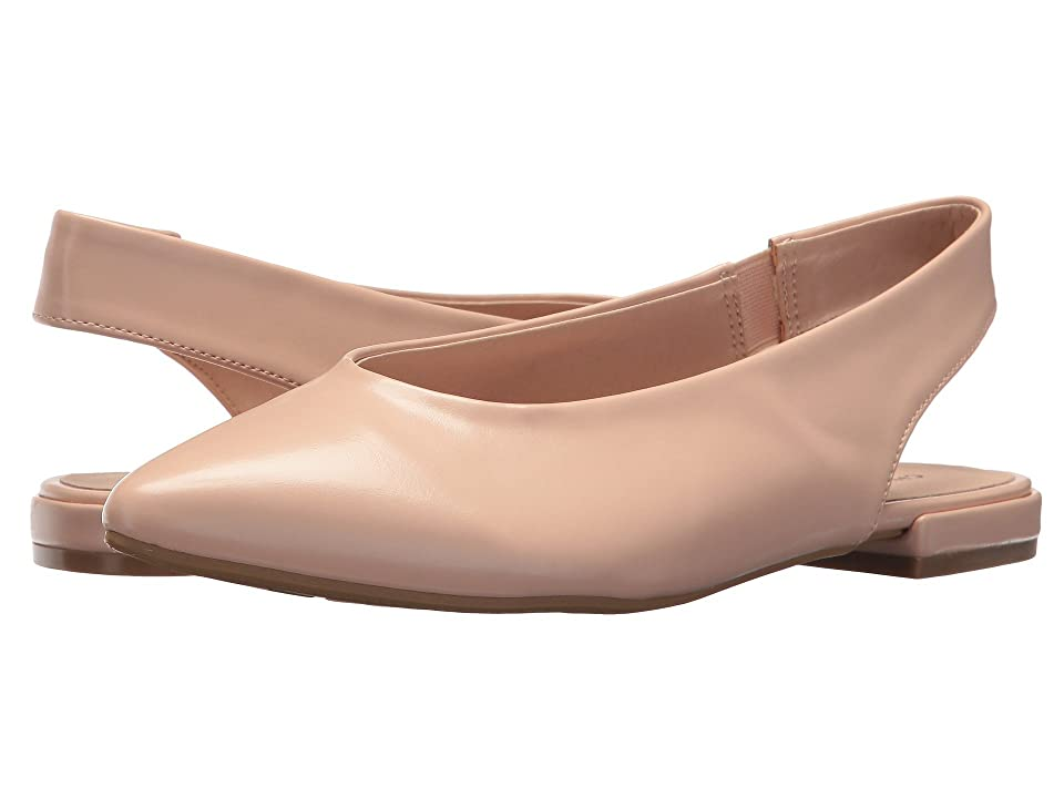 Chinese Laundry Gracias Flat (Blush Nude) Women's Dress Flat Shoes, Beige
