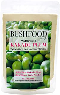 Kakadu Plum 100% Pure Premium Grade (A) Superfood Powder (80 Grams) - Nature's Richest Source of Vitamin C, High in Antiox...