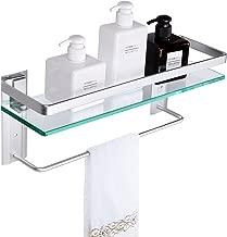 Best towel bar glass shelf Reviews