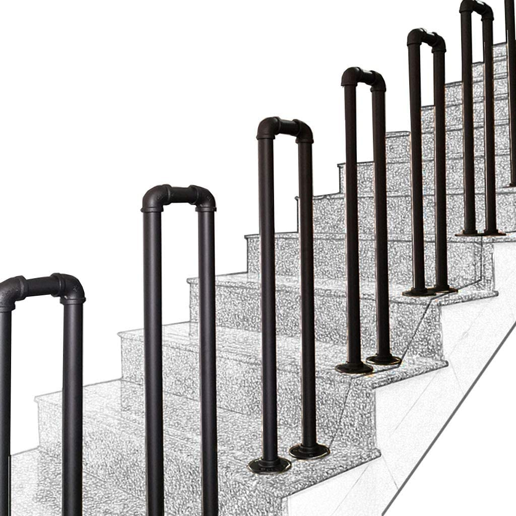 Handrails Jsue Stair Rail Loft discount N-Type Pipe Matt Industrial Fence Overseas parallel import regular item