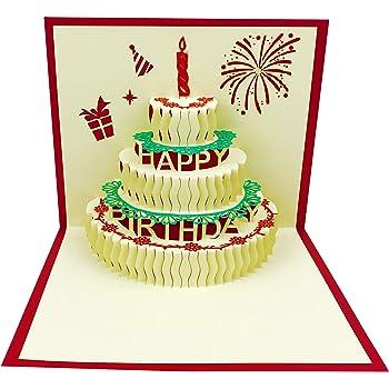 Tremendous Amazon Com 3D Pop Up Birthday Cards Birthday Greeting Cards Personalised Birthday Cards Paralily Jamesorg