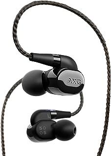 AKG N5005 耳机 蓝牙兼容/入耳式/高分辨率兼容/线可拆卸 黑色 AKGN5005BLKJP [国内正规货]