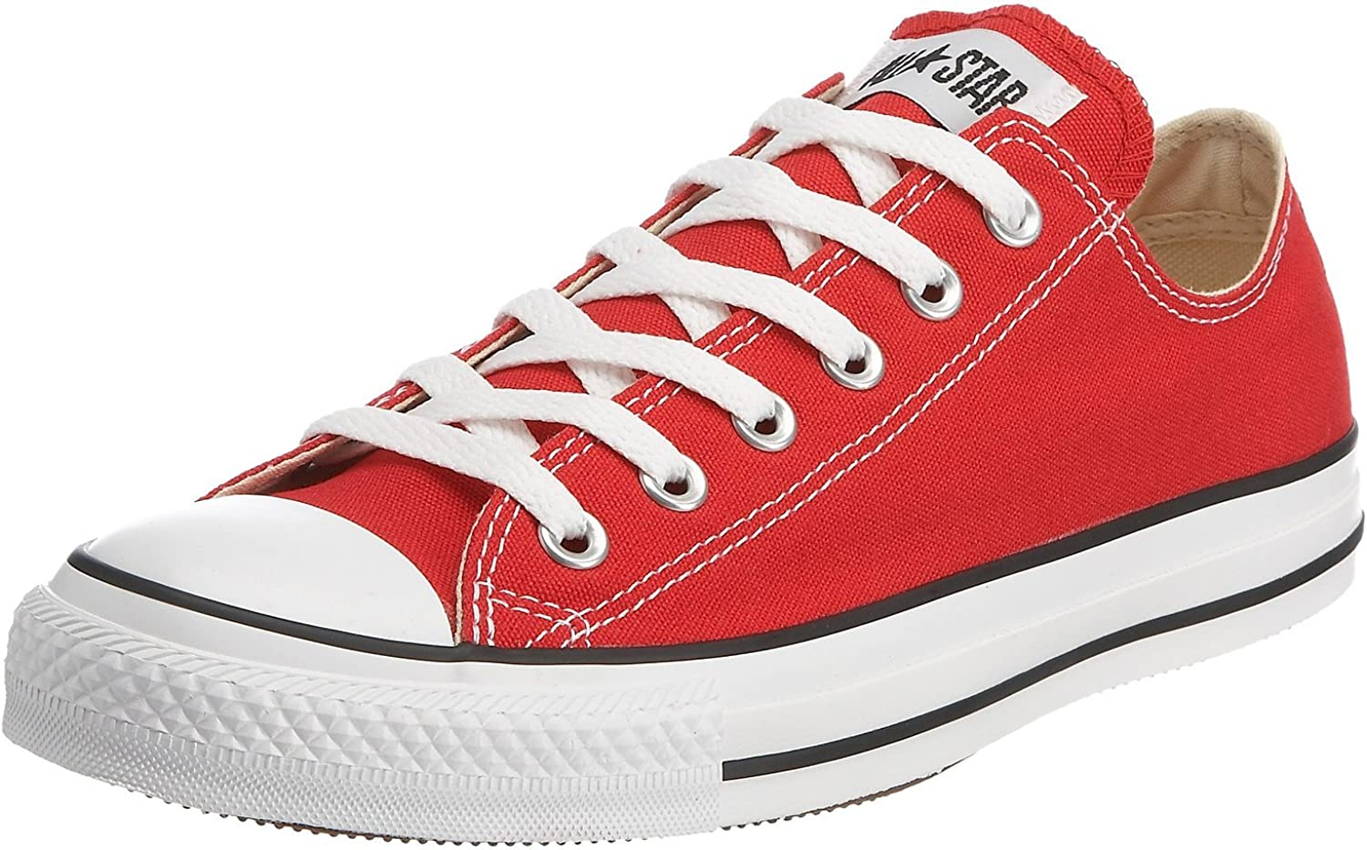 Converse Unisex Chuck Taylor All Star Low Basketball shoes (13 B(M) US Women 11 D(M) US Men, Red)