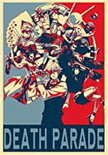 "Poster Death Parade ""Propaganda"" Characters - Formato A3 (42x30 cm)"
