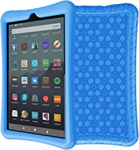 LEDNICEKER Silicone Case for for All-New Fire 7 Tablet (9th Generation - 2019 Release) - Anti Slip ShockProof Kids Friendly Case for Amazon Fire 7 2019 & 2017 (7 Inch Display), Blue
