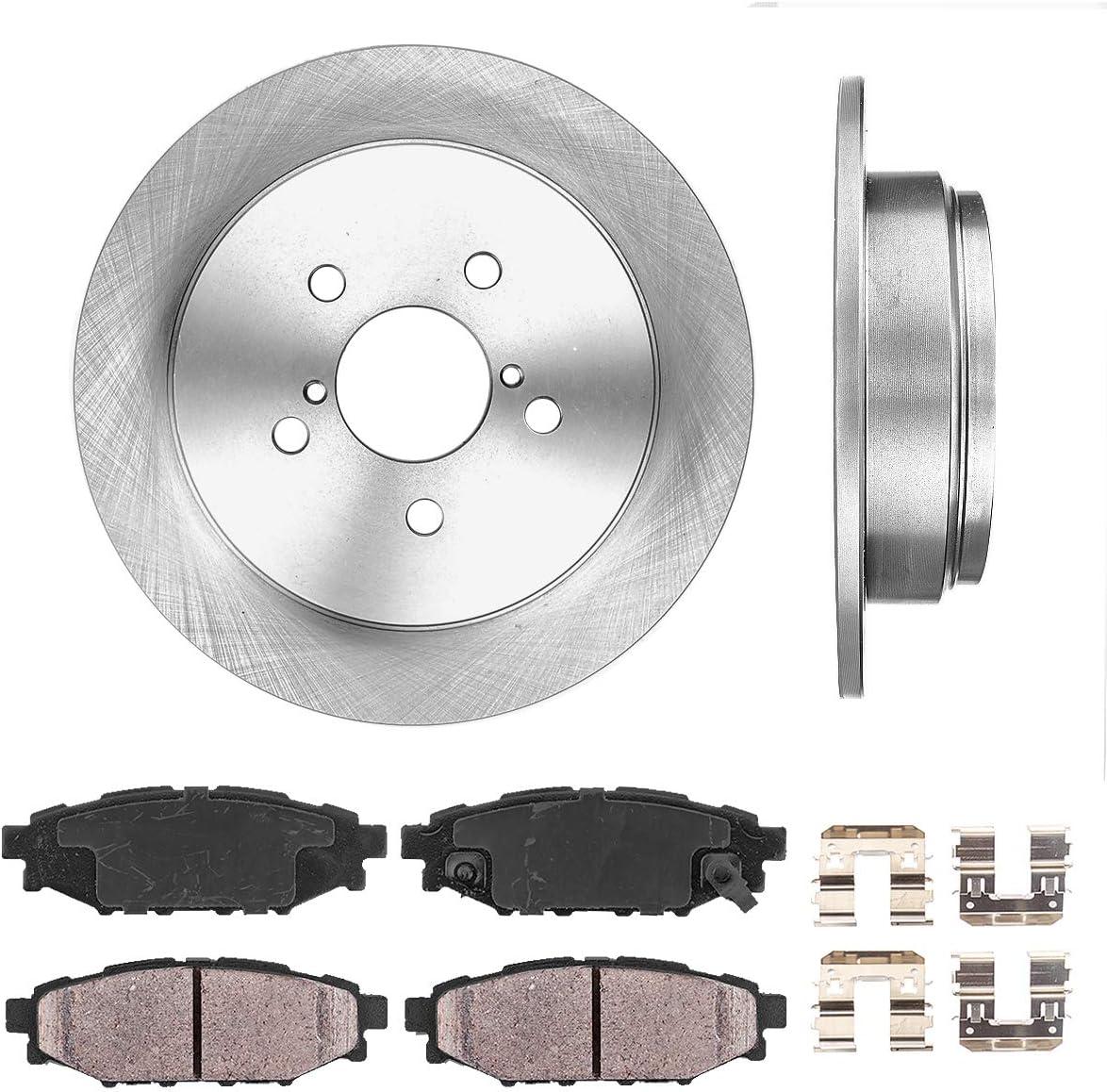 CRK14754 REAR 273.8 mm Premium OE 5 Lug 2 Brake + Free Shipping Cheap Bargain Gift Rotors Gorgeous Disc