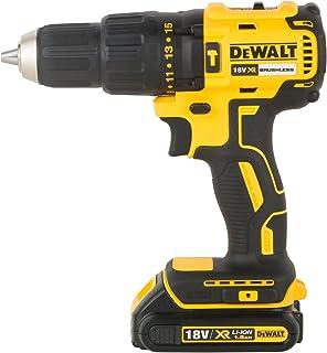 comprar comparacion DEWALT DCD778S2T-QW - Taladro Percutor sin escobillas XR 18V, 13mm, 65Nm, incluye 2 baterías Li-Ion (1.5Ah) y maletín