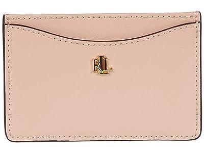 LAUREN Ralph Lauren Slim Card Case (Mellow Pink) Wallet Handbags