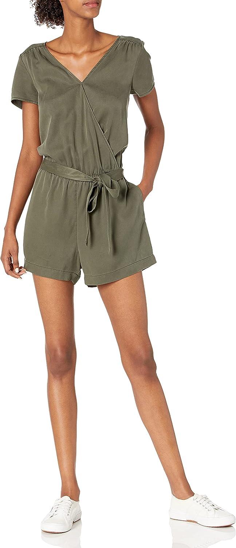 1 year warranty Award-winning store Amazon Brand - Daily Ritual Women's Short-Sleeve Rom Wrap Tencel