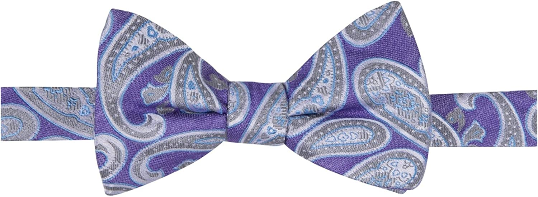 f33f365eddd7 Ryan Seacrest Distinction Men's Bradbury Pine Pre-Tied Bow Tie Tie Tie  34ddd4
