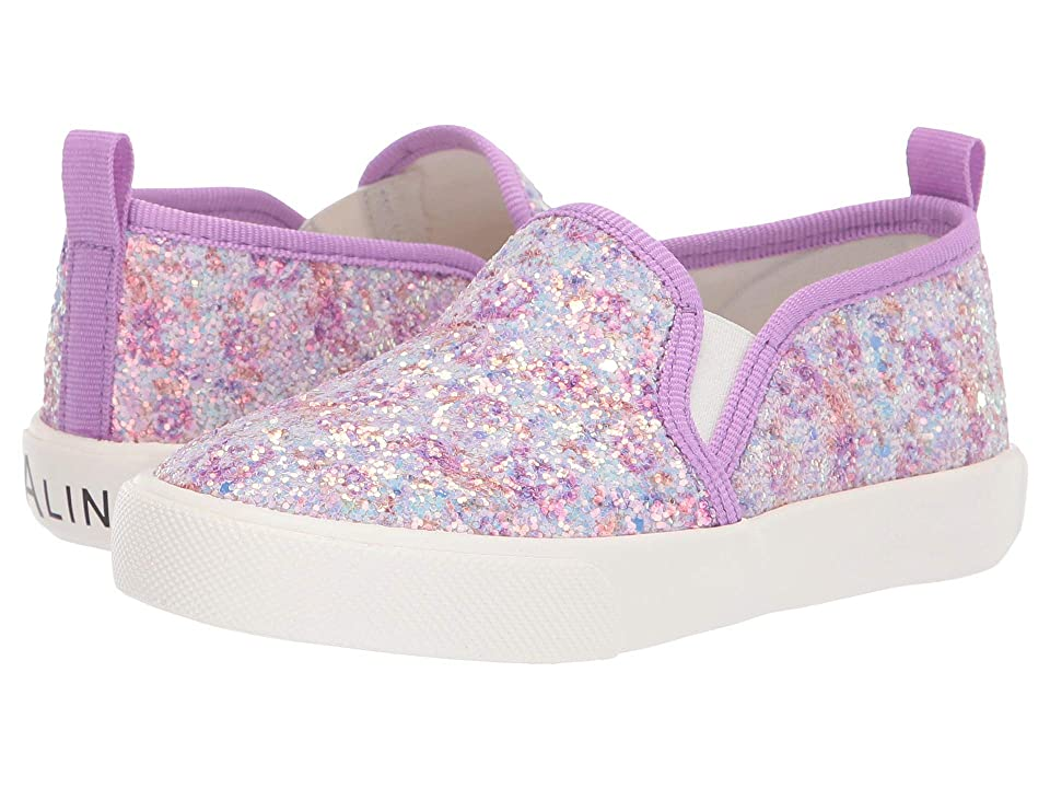 Amiana 6-A0864 (Toddler/Little Kid/Big Kid/Adult) (Purple Floral Glitter) Girls Shoes