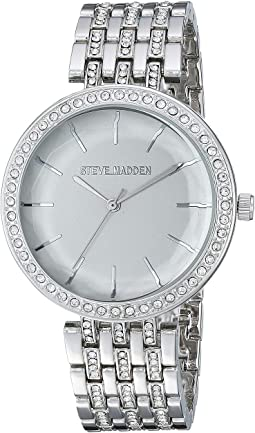 Floral Dial Ladies Alloy Band Watch SMW175