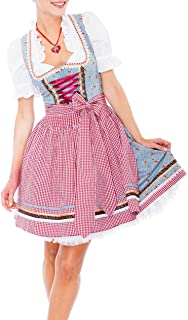 Krüger Madl Damen Dirndl Kleid 46735, Mini