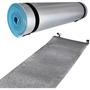 Yellowstone Eva Camping Mat with Foil Blue